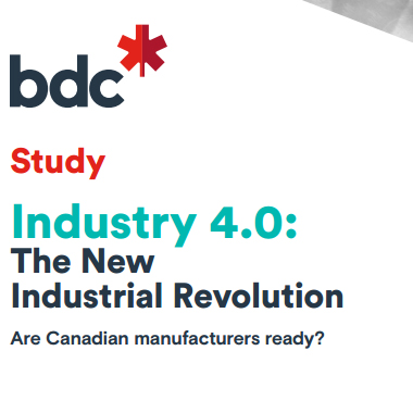 bdc industry 4.0 the new industrial revolution are canadian manufacturers ready white background freepoint technologies