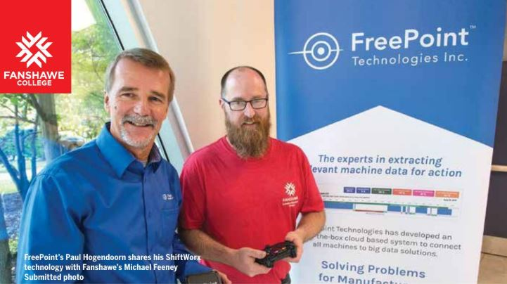 Fanshawe College and FreePoint Technologies