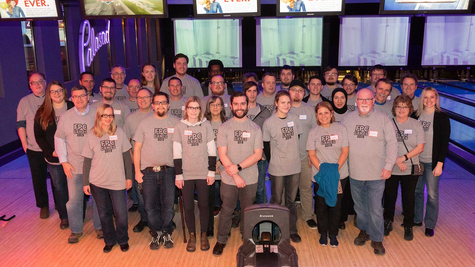 FreePoint staff at FPC Games 2019