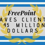 45 million dollars saved freepoint technologies