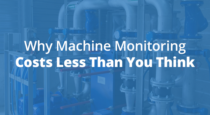 Machine Monitoring Cost Cover Graphic